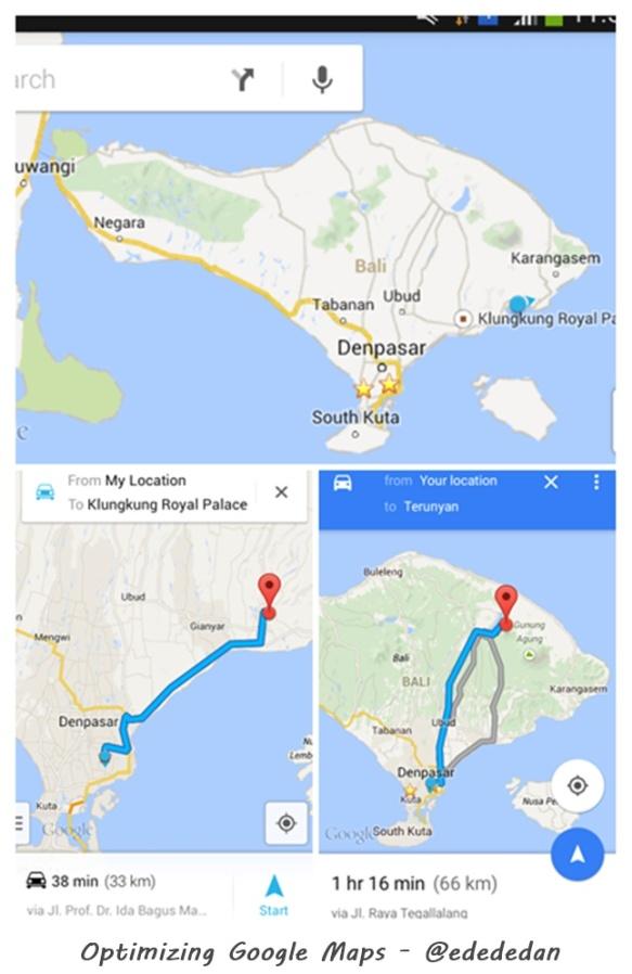 road trip bali