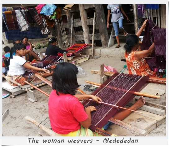 woman weavers lumban suhi suhi