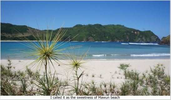 beach south lombok mawun 2