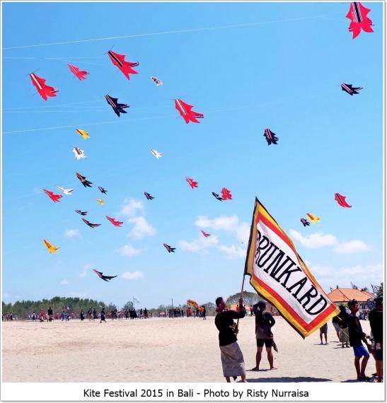 Kite festival in bali