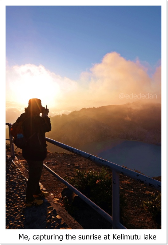sunrise kelimutu lake