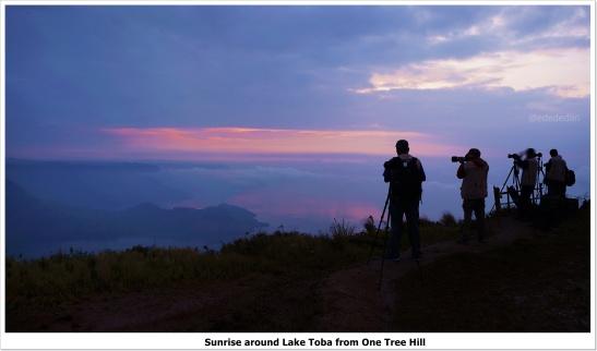 sunrise lake toba edna