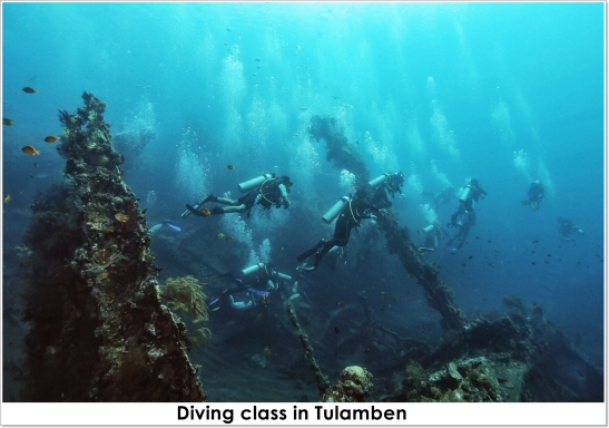 dive class tulamben