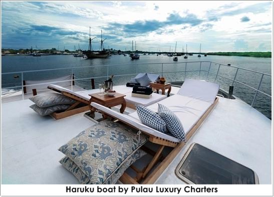 haruku by pulau luxury charters