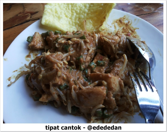 balinese foods tipat cantok