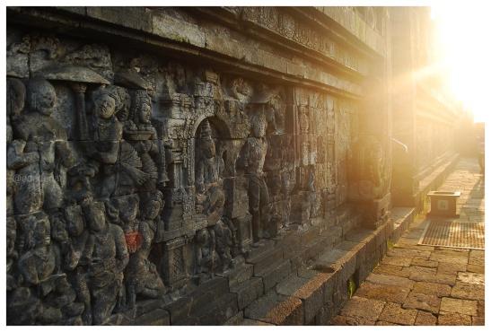 edededan Sunrise Borobudur 4